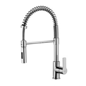 Red 179 Kitchen Faucet with Two Spray Hand Shower