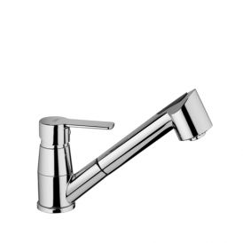 Red 183 Kitchen Faucet with Two Spray Hand Shower