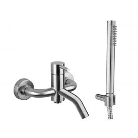 Steel 026AC Wall Mounted Bath/Shower Mixer