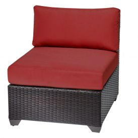 Barbados TKC020b Outdoor Wicker Armless Sofa