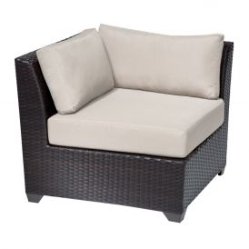 Barbados TKC020b Outdoor Wicker Corner Sofa
