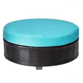 Barbados TKC020b Outdoor Wicker Round Coffee Table