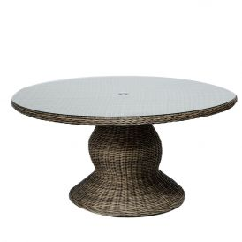 Cape Cod Vintage Stone 60 Inch Outdoor Patio Dining Table