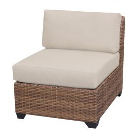 Laguna TKC025b Outdoor Wicker Armless Sofa