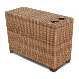 Laguna TKC025b Outdoor Wicker Cup Table