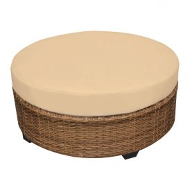 Laguna TKC025b Outdoor Wicker Round Coffee Table