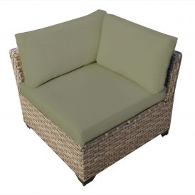 Monterey TKC015b Outdoor Wicker Corner Sofa