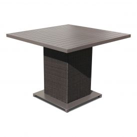 Napa Square Outdoor Patio Dining Table