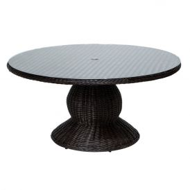 Venice 60 Inch Outdoor Patio Dining Table