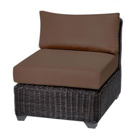 Venice TKC050b Outdoor Wicker Armless Sofa