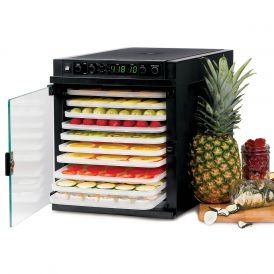 Sedona SDE-P6280 Express Food Dehydrator with Plastic Trays
