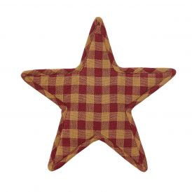 Nancys Nook Burgundy Star Trivet