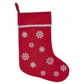 Holiday Winter Wonderment Decorative Holiday Stocking