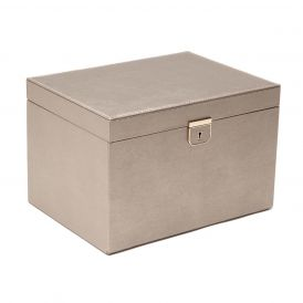 Palermo Large Jewelry Box in Pewter