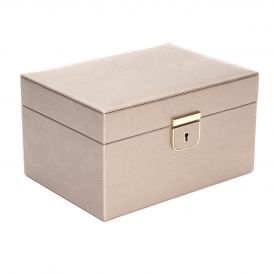 Palermo Small Jewelry Box in Pewter