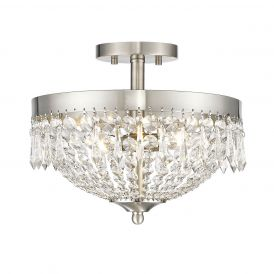 Danza 431 3-Light Semi Flush Mount Light