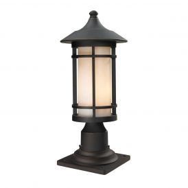 Woodland 528PHM-533PM-ORB Outdoor Light