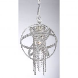 MP40011 Cascade Pendant Light in Satin White